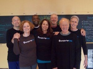Some Mindful Yoga Therapy team members at Newington Yoga Center