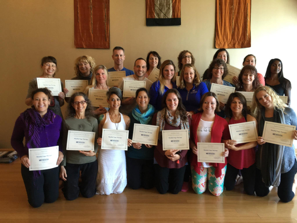 Mindful Yoga Therapy 100 Hour Certification Graduates - November 2015