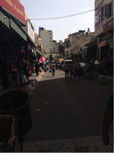 Marketplace in Ramallah center