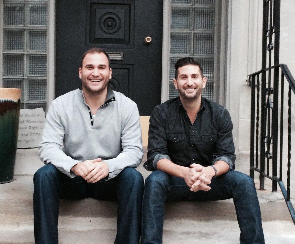 Eric and Steven Bava
