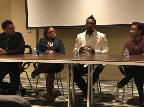 EDUCATING BLACK - professionals about industry developments, career growth, and business opportunities.