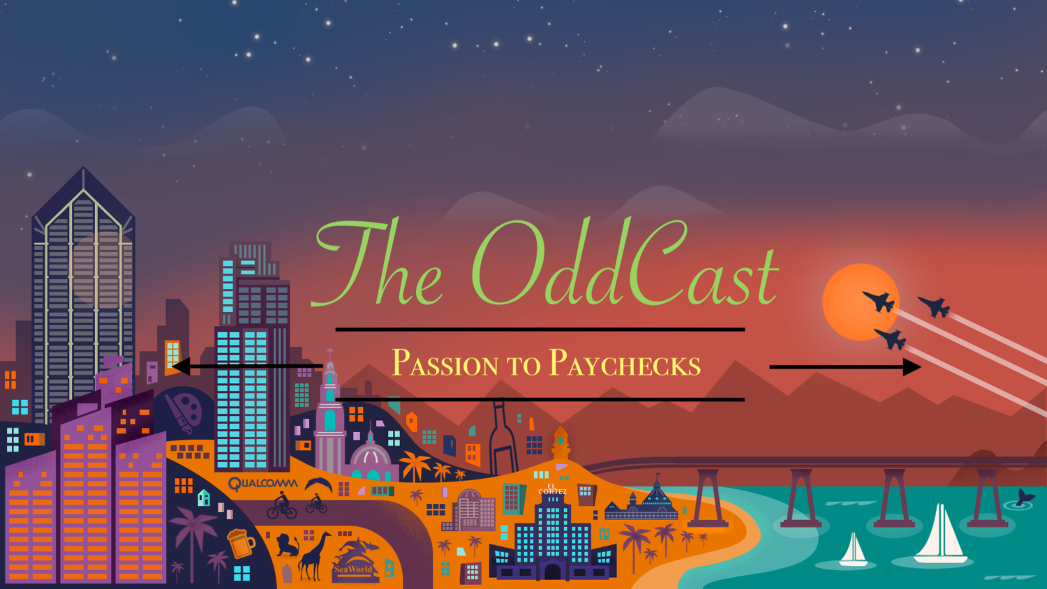Banner — The OddCast Podcast