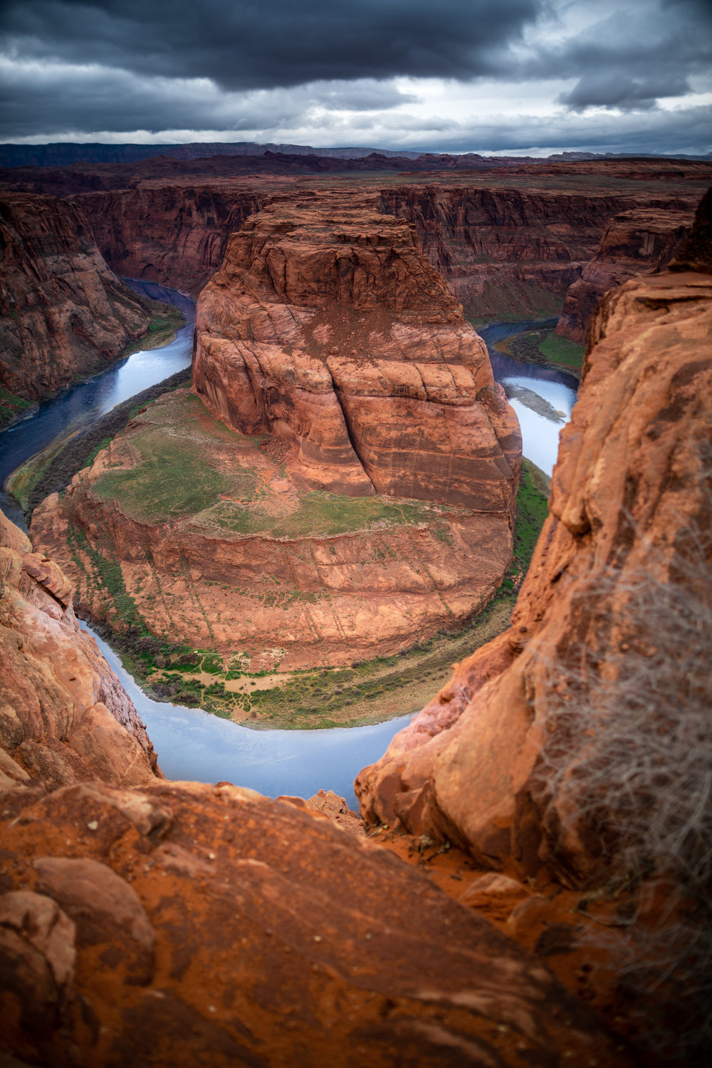 Horseshoe Bend outside of Page, Arizona