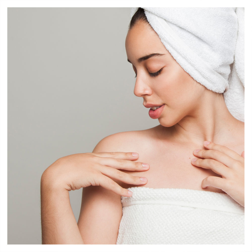 Chest & Back Treatments - Acne isn't limited to the face only! It's very common for breakouts to occur on the chest and back area as well. Vanilla Sugar Face & Body has treatments to specifically treat those areas so you can be clear from head to toe!