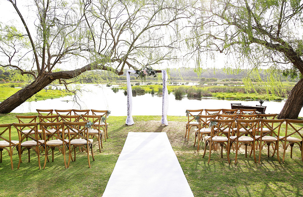 Pop up wedding ceremony Yanchep National Park