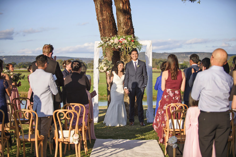 Oakover Wedding Ceremony