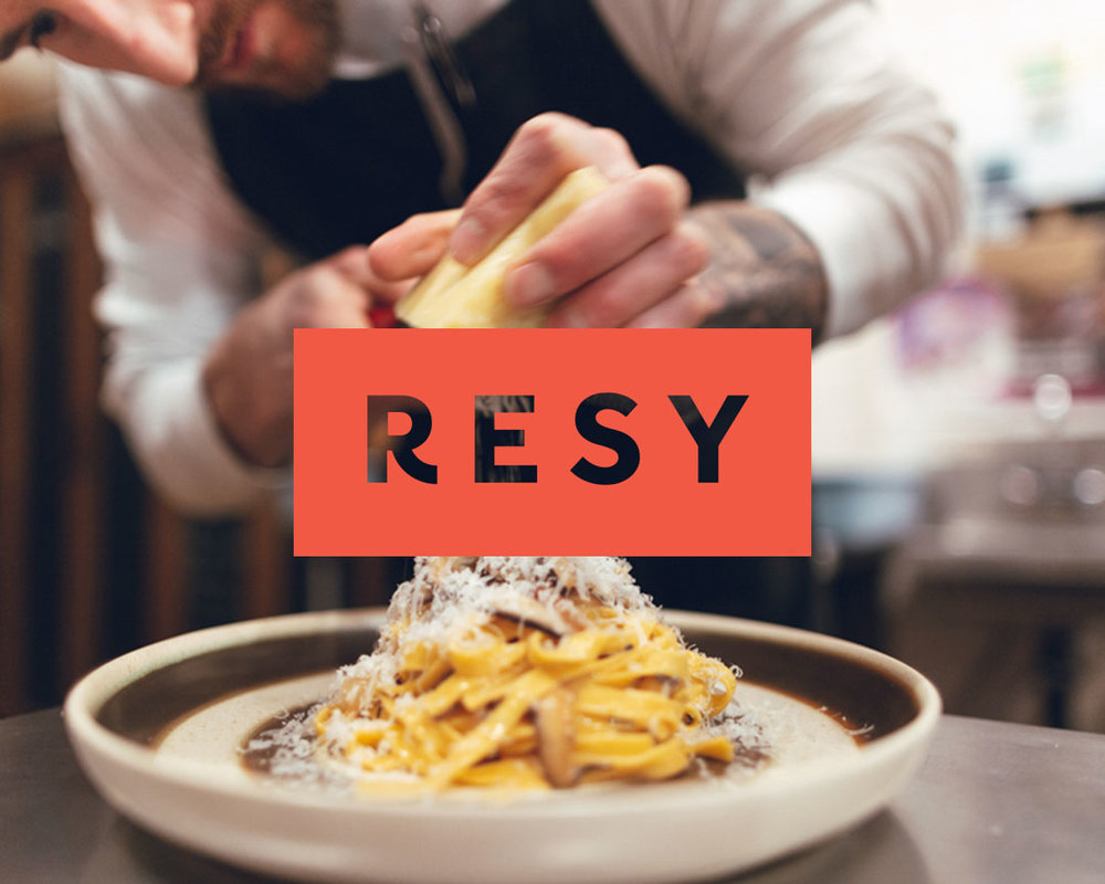 Book a reservation online or through your RESY app.