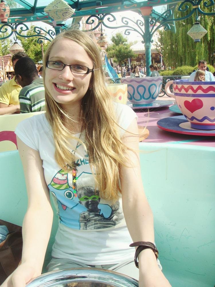 Juin 2010, les lunettes, le style, les cheveux…j'ai un peu honte de partager cette photo ahah
