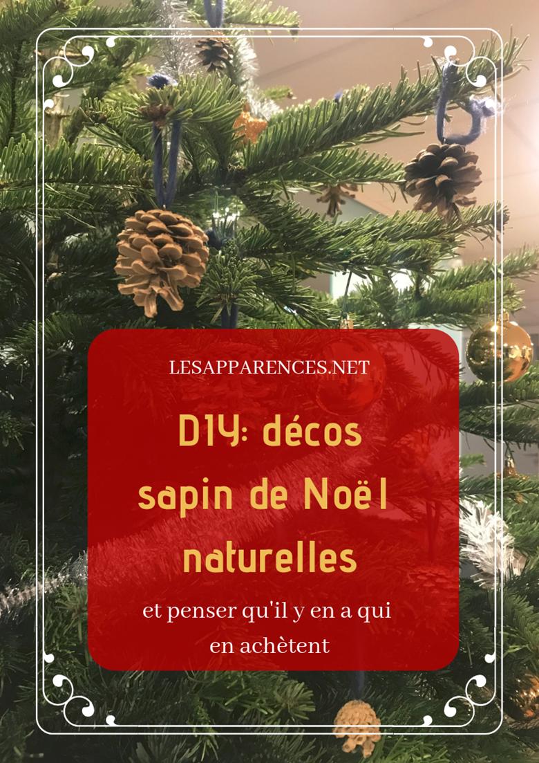 DIY tutorial: décorations de Noël naturelles avec des pommes de pin