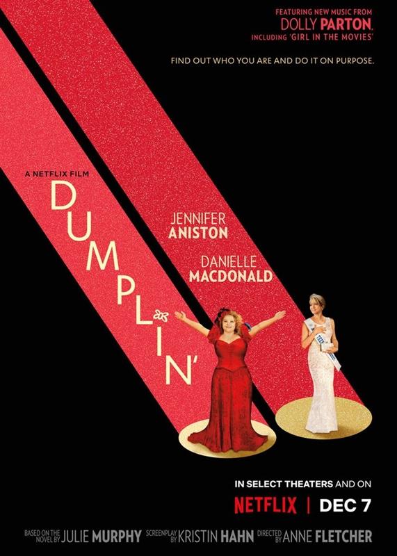 Dumplin' Netflix  affiche film critique