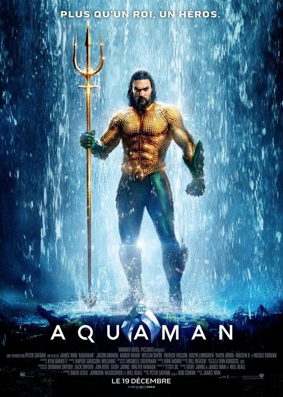 Aquaman affiche film critique
