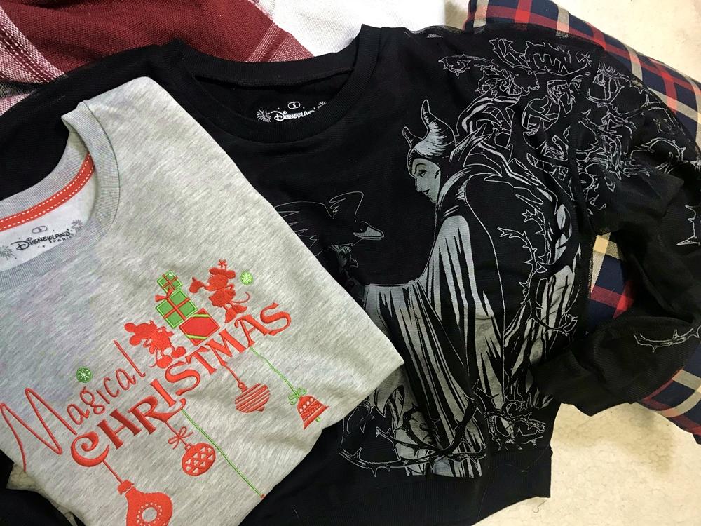 Pulll Sweat sweatshirt Disney Disneyland Paris Christmas Noel Malefique Maleficent