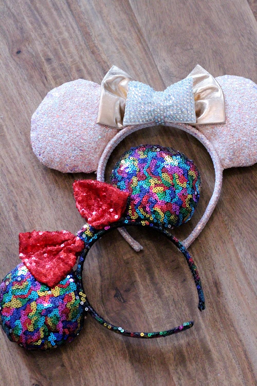 Oreilles Disney Minnie Claire's Disneyland