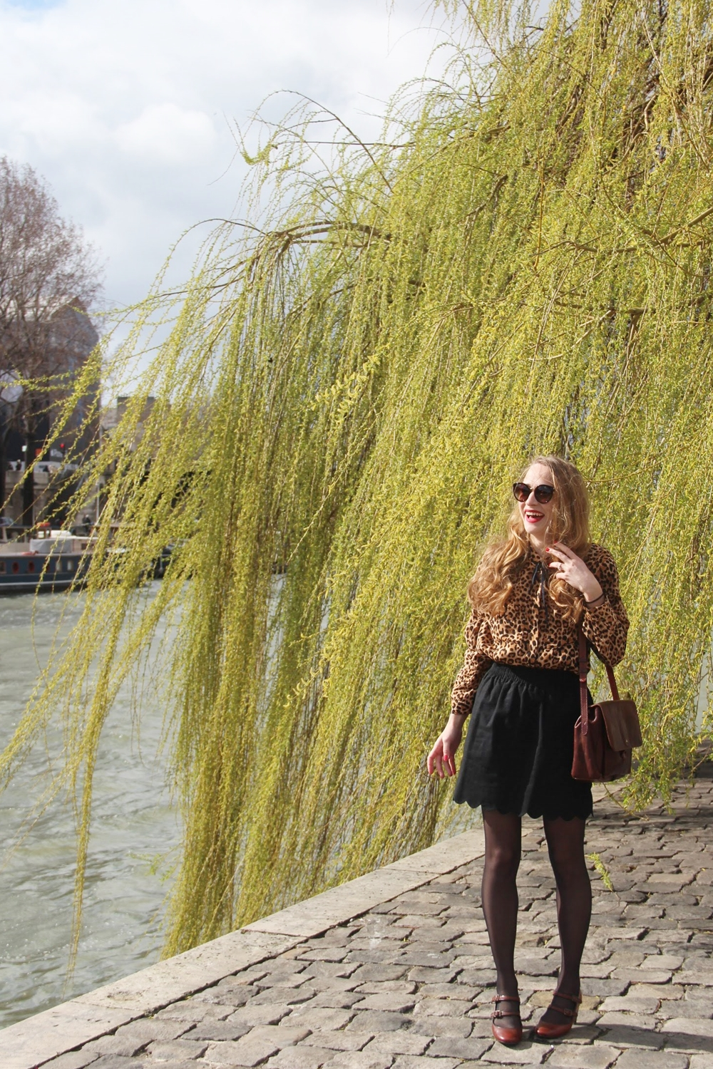 Blog mode parisien fashion paris leopard imprime