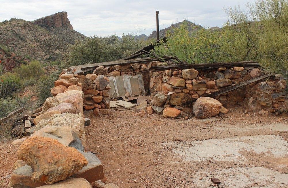 Ruins at Copperopolis.