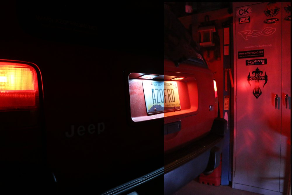 New/Old Interior light setup.