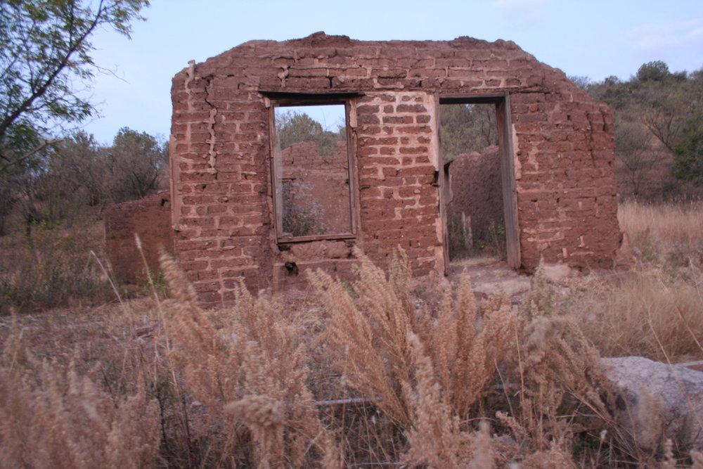 Ruins at Harshaw.