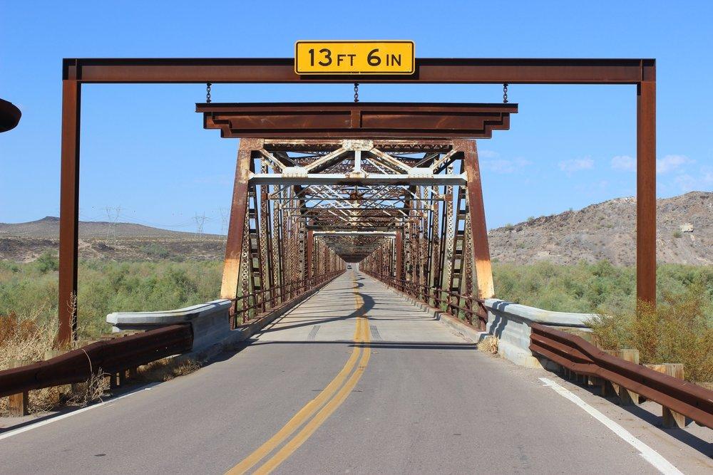 Gillespie Bridge (Old US Highway 80)