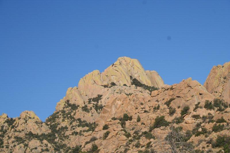 Rockefellow Dome in the Cochise Stronghold, just west of Pearce.