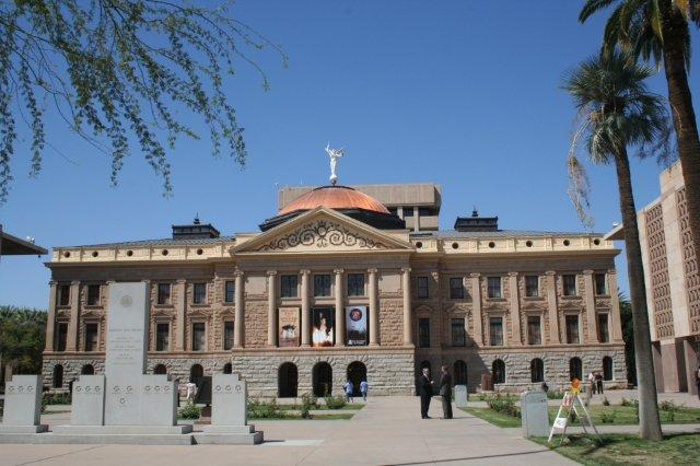 Arizona State Capitol Building in downtown Phoenix
