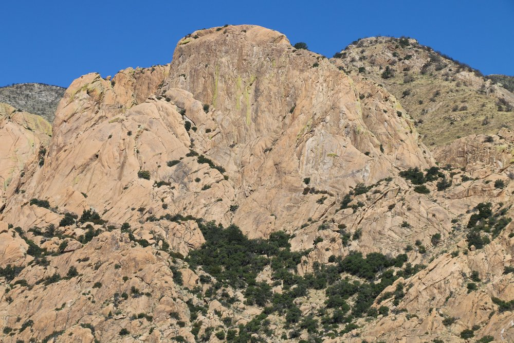 The next morning's light revealed the stunning Cochise Stronghold where we spent the night.