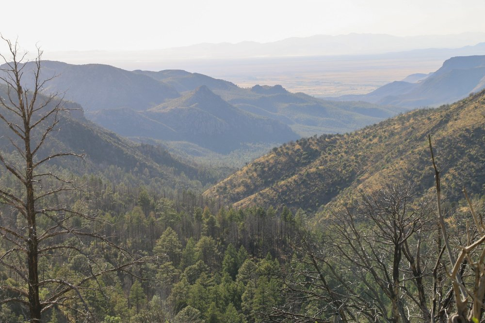 The views in Pinery Canyon get more incredible the higher you climb.