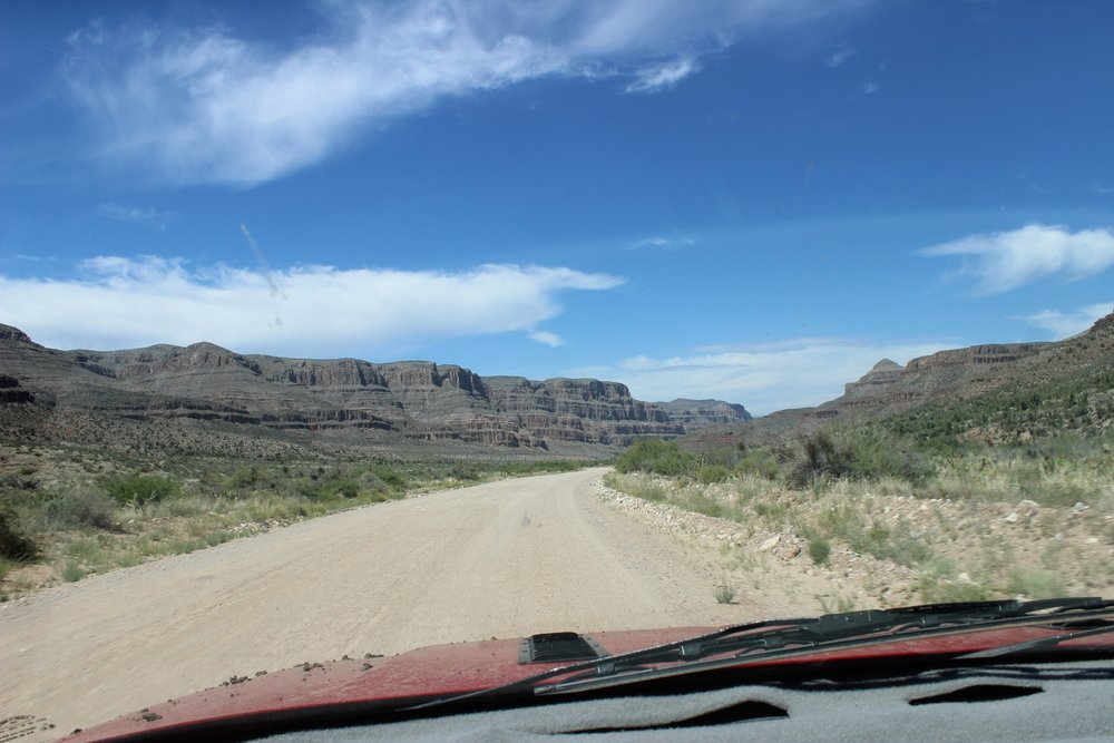 The views along Diamond Creek Road continue to improve the further you drive