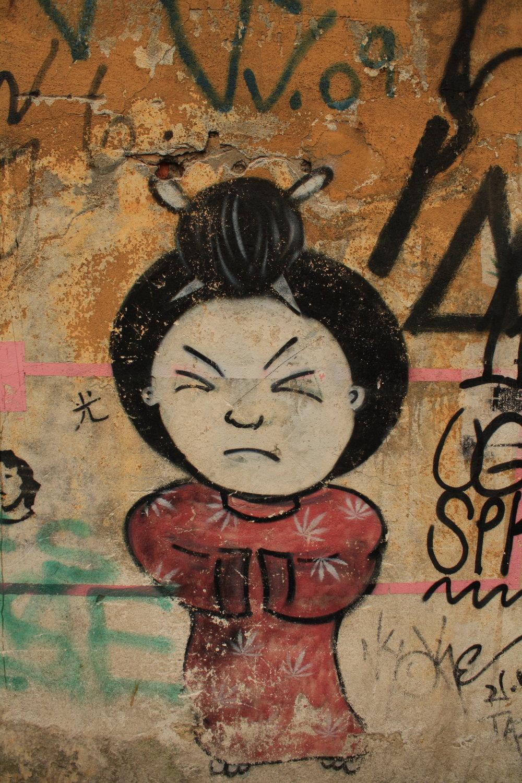 Liberdade street art Sao Paulo
