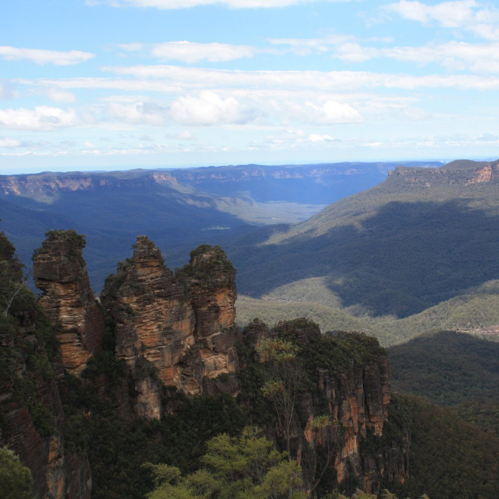 Blue Mountains three sisters viewpoint