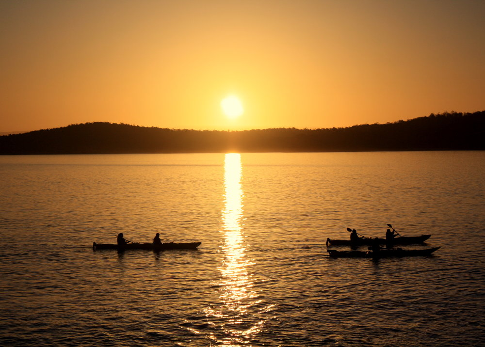 Freycinet National Park sunset Tasmania