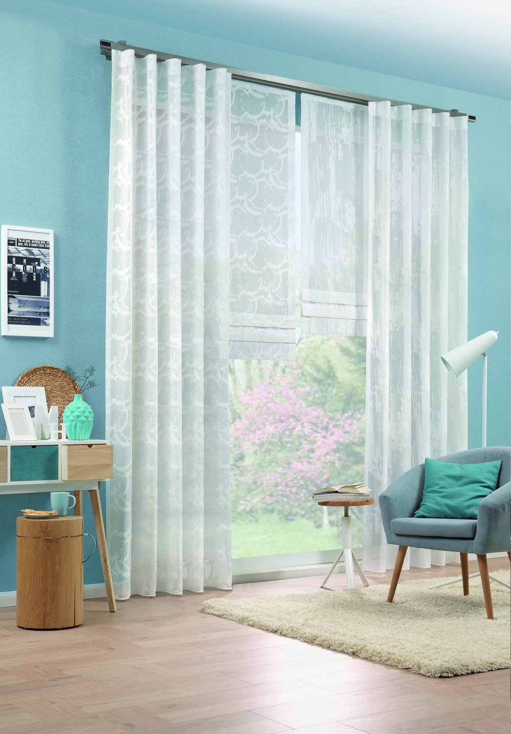 Curtains and deco fabrics - High-contrast designs, intense colors, universal application.