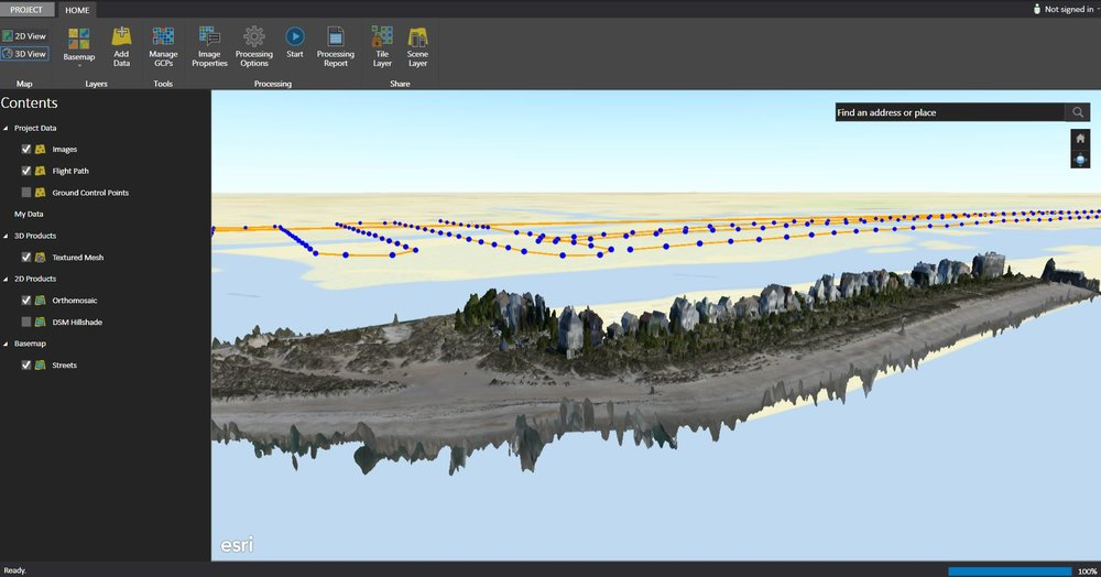 3D mesh output in Drone2Map for ArcGIS