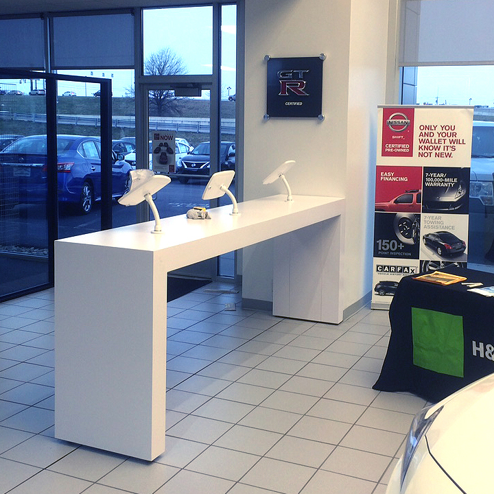 Auto Sales Kiosks - A modern and secure avenue for sales