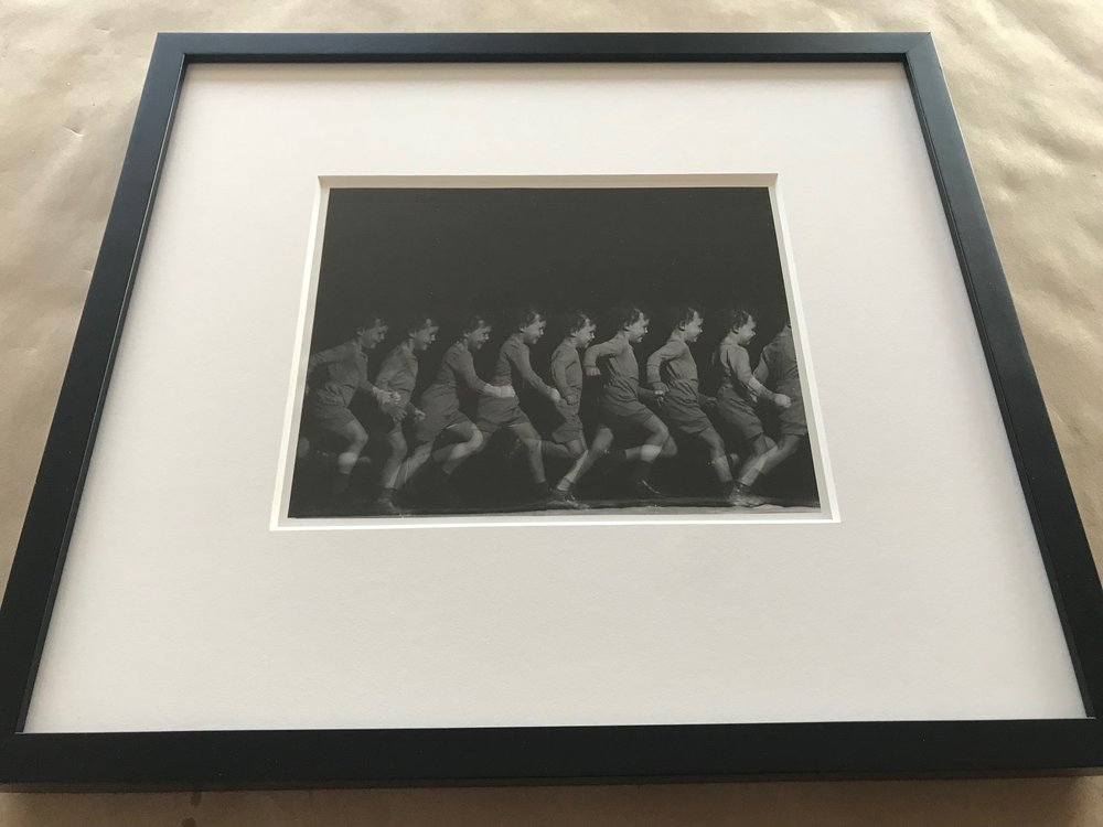 "Harold Edgerton, ""Child Running"" photograph"