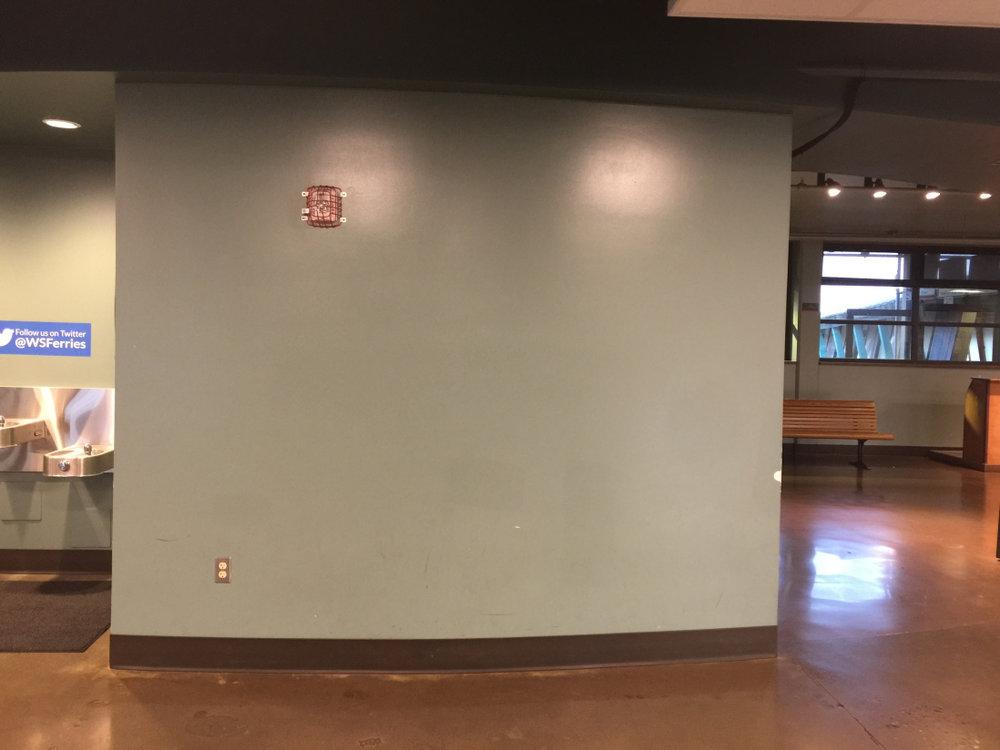 Original bare wall