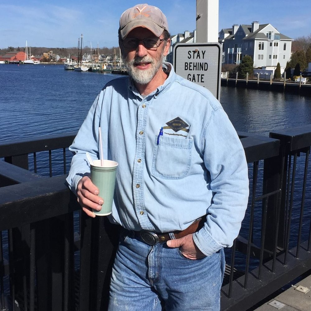Owner Bill Paul - Enjoying a milkshake from Mystic Drawbridge Ice Cream!