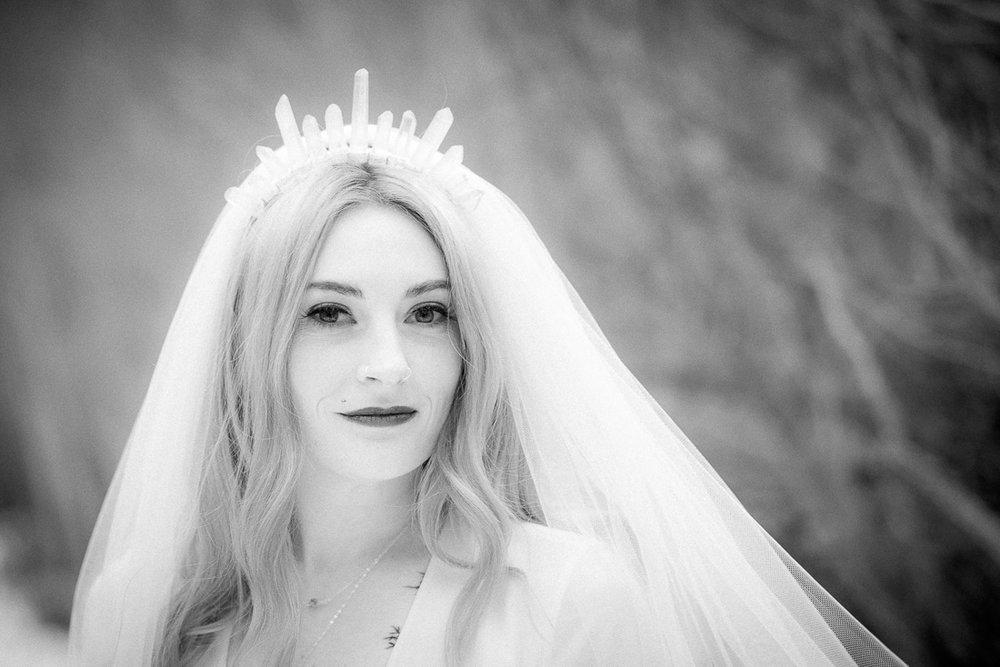 Jessica at her Aspen Hall wedding last weekend.