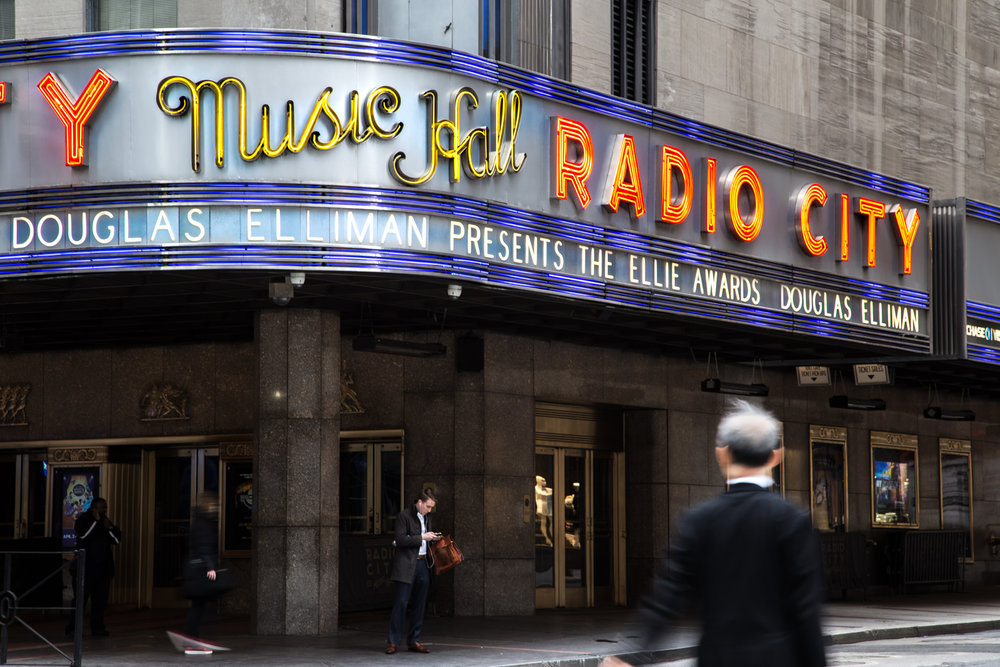 Ellies Radio City Music Hall
