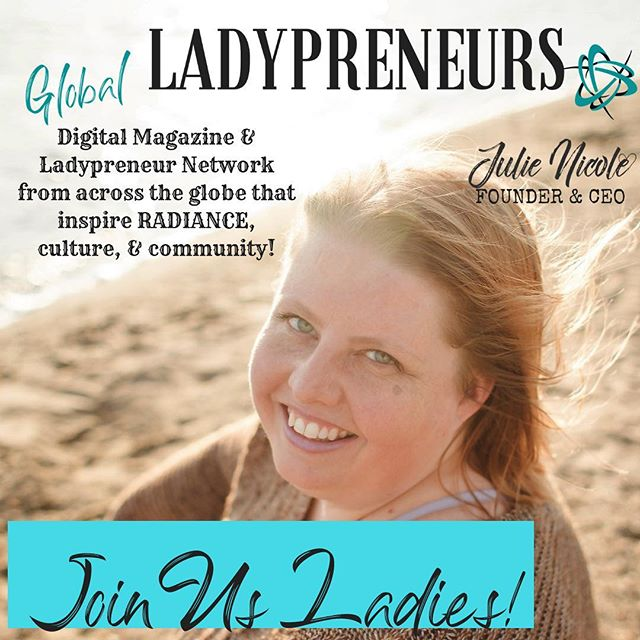 Join our FREE 🔥🔥🔥 magazine and #ladypreneur / #ladypreneurs network community from across the #globe_people that celebrate their #lifeproof , #cultures , and commitment to their community.  Highlights include #businessprofessional resources and #businesstips to assist you, featured #shortstories and profiles of amazing #bossbabe👑 women & their #lifestyleinspo , #worklifestyle and #worklifebalance.☄️ -Join our private FB group today.  Msg for more info!