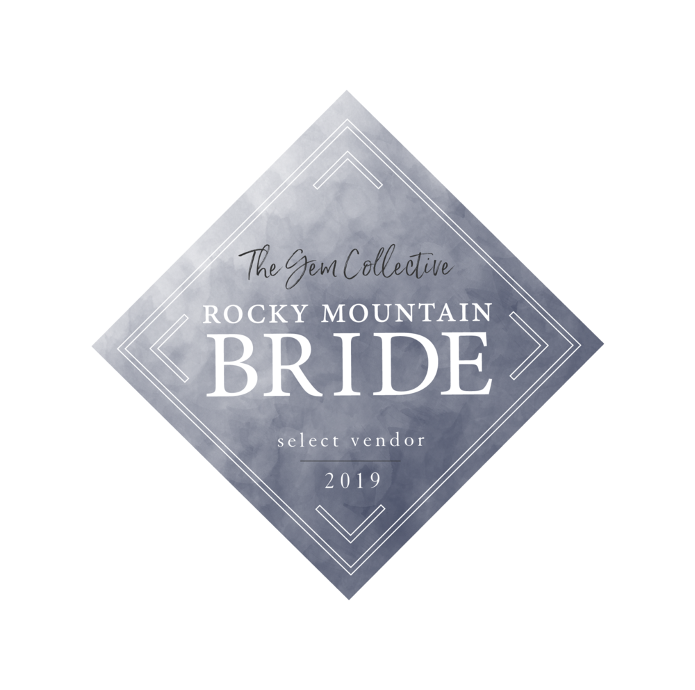 FEATURED IN - Rocky Mountain Bride Magazine RMB Gem Collective Select Vendor