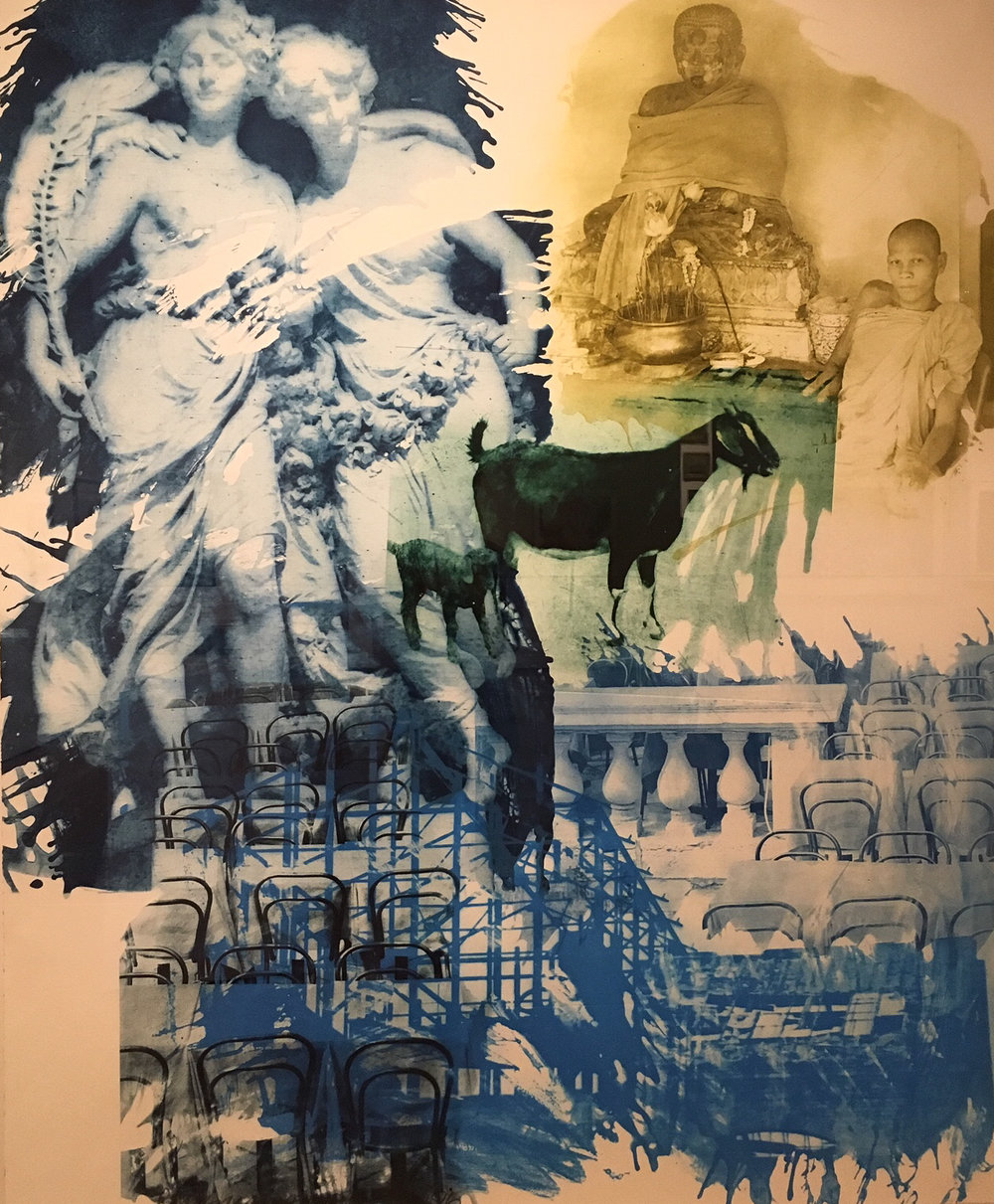 Robert Rauschenberg, Intermission from Ground Rules