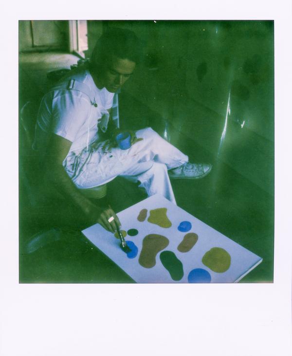 Tosh Clement polaroid
