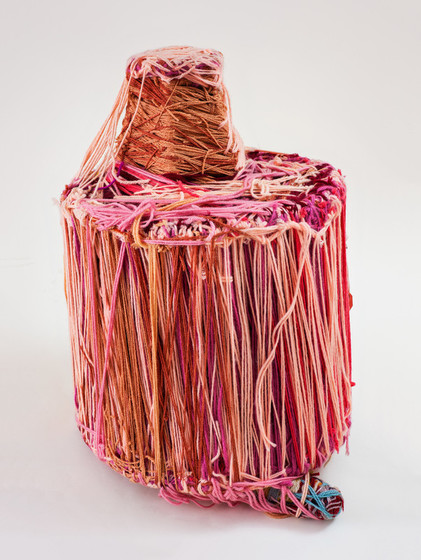 Judith Scott,  Untitled , 2004, fiber and mixed media, 21 × 16 × 16 in., The Museum of Everything, London, © Creative Growth Art Center