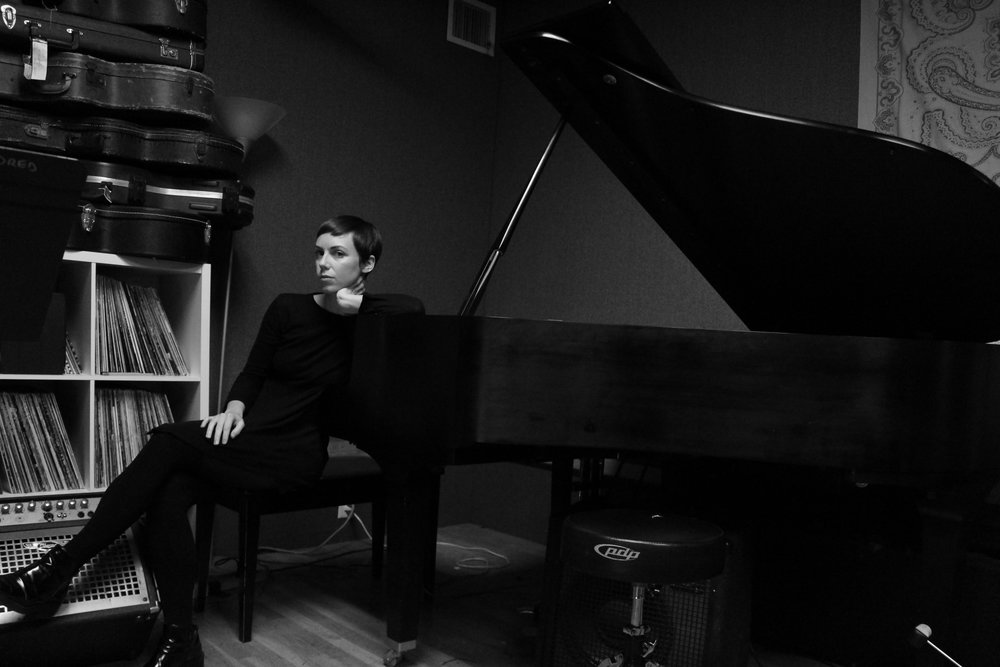 Brittany at home in her practice space in the Gowanus, Brooklyn, NY. Photo credit Jeff Chase.