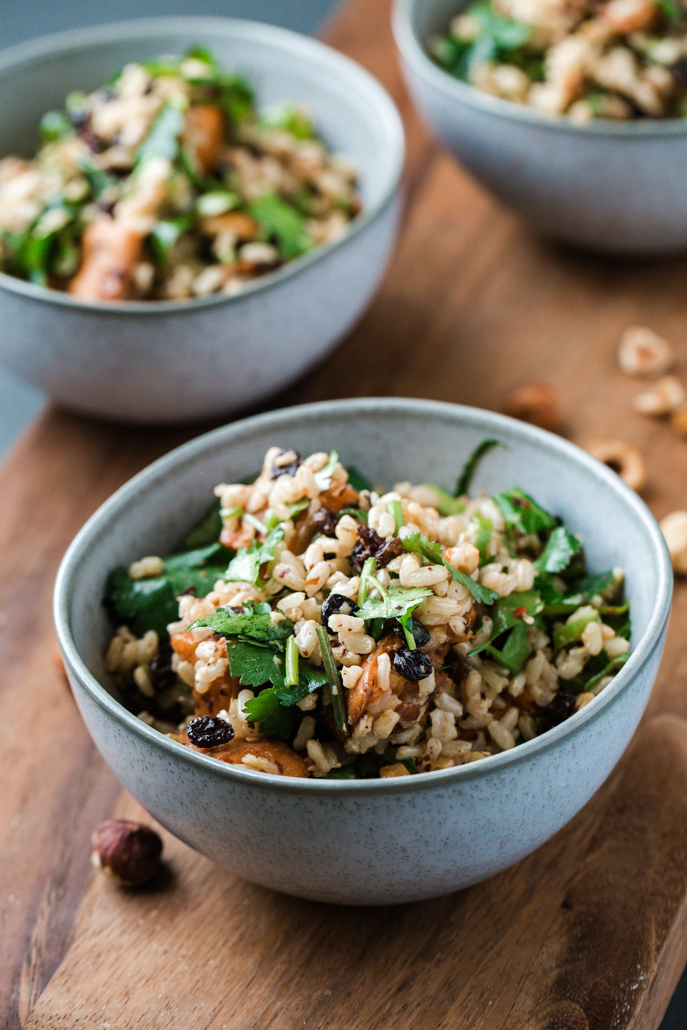 Brown Rice & Sweet Potato Salad