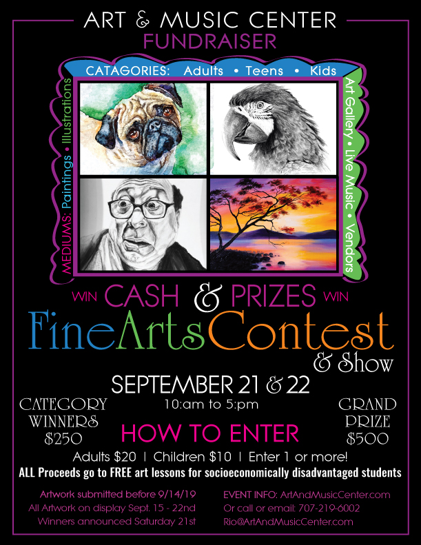 HUGE Art Contest & Show Fundraiser - Downtown Rio Vista