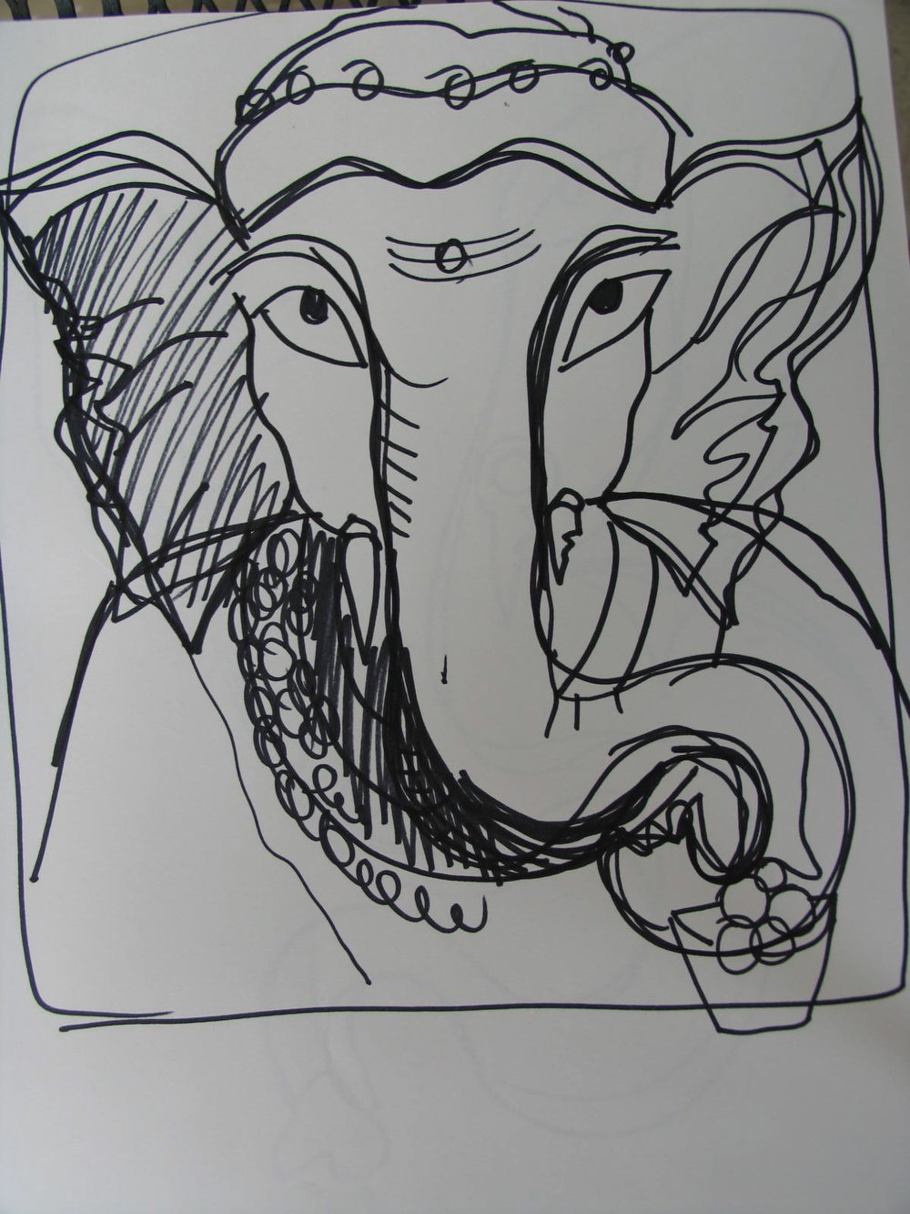 Sri Ganesha Sketch