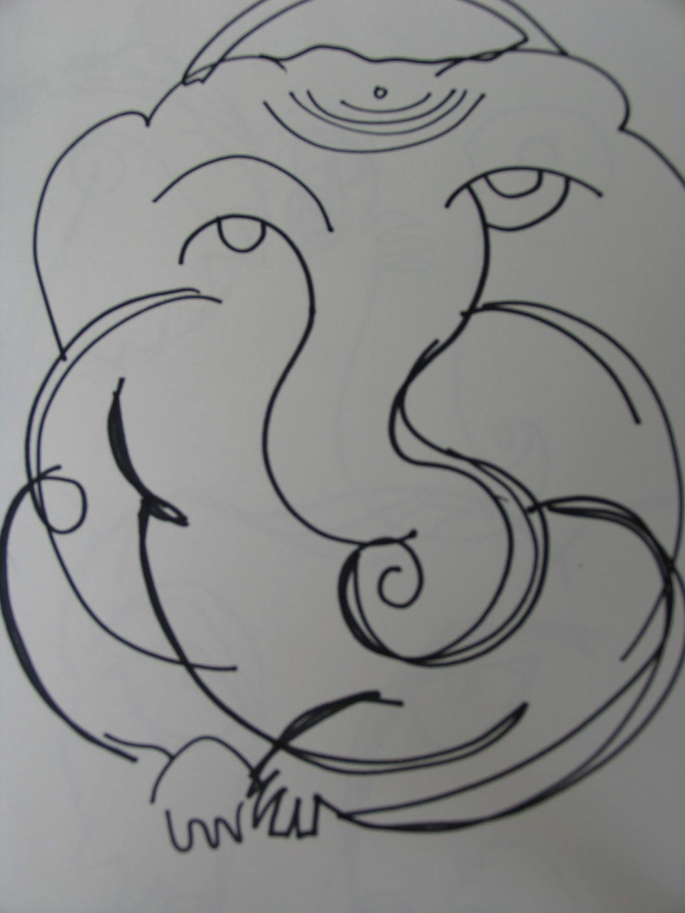 Sri Ganeshji Drawing 4