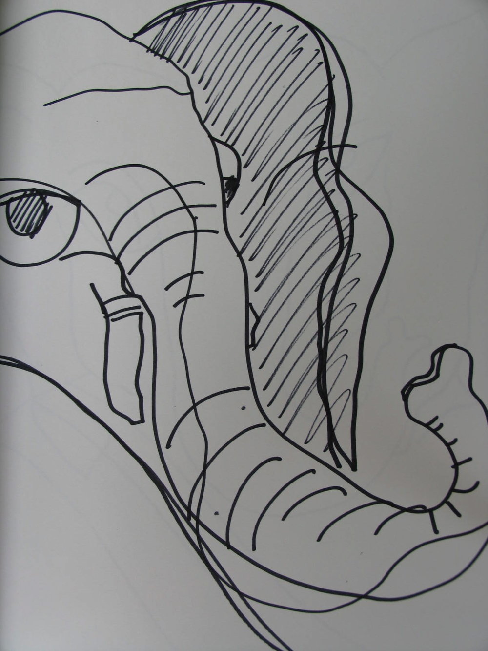 Sri Ganeshji Drawing 5