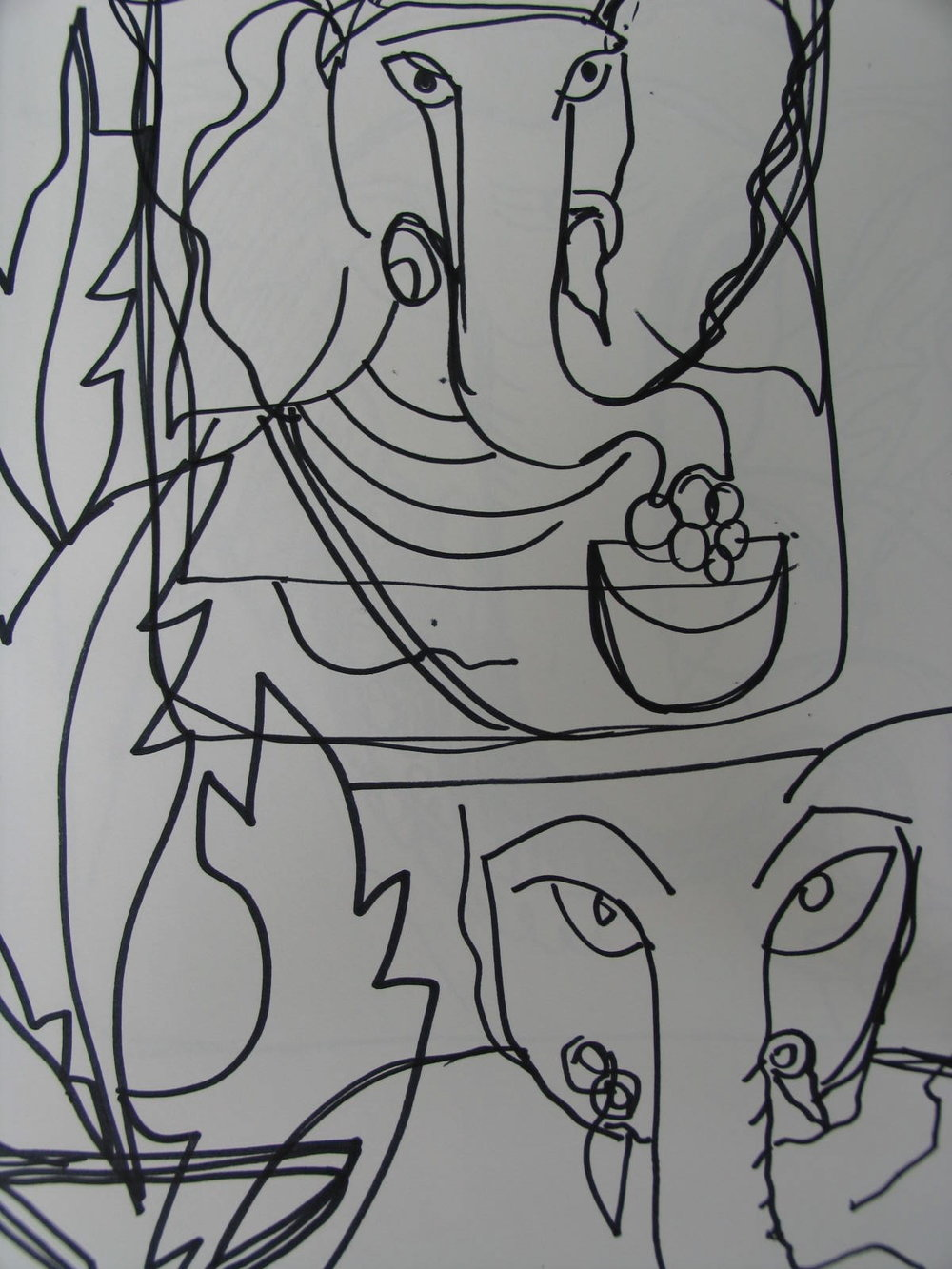 Sri Ganeshji Sketch 5